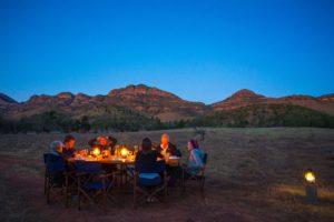 Gourmet meals served under the stars - Graham Michael Freeman