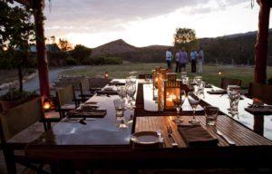 Pre dinner drinks Arkaba Homestead - Randy Larcombe